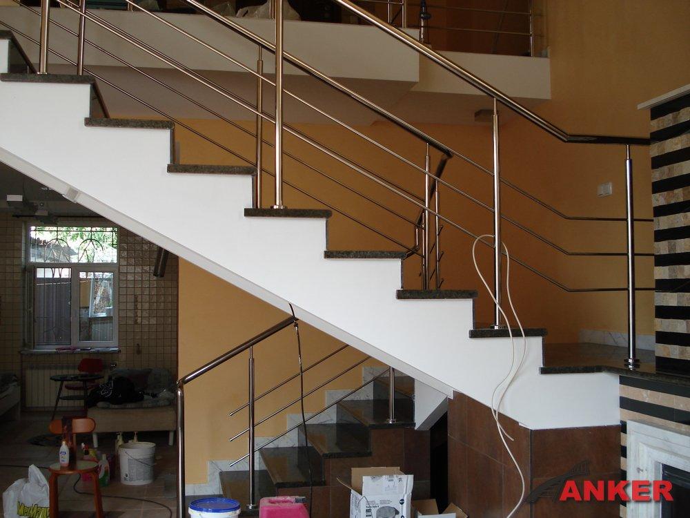 Расчет и проектирование лестниц: ограждения